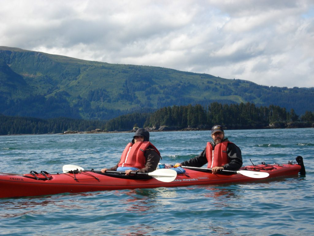 Kayaking in Kachemack Bay State Park, Alaska