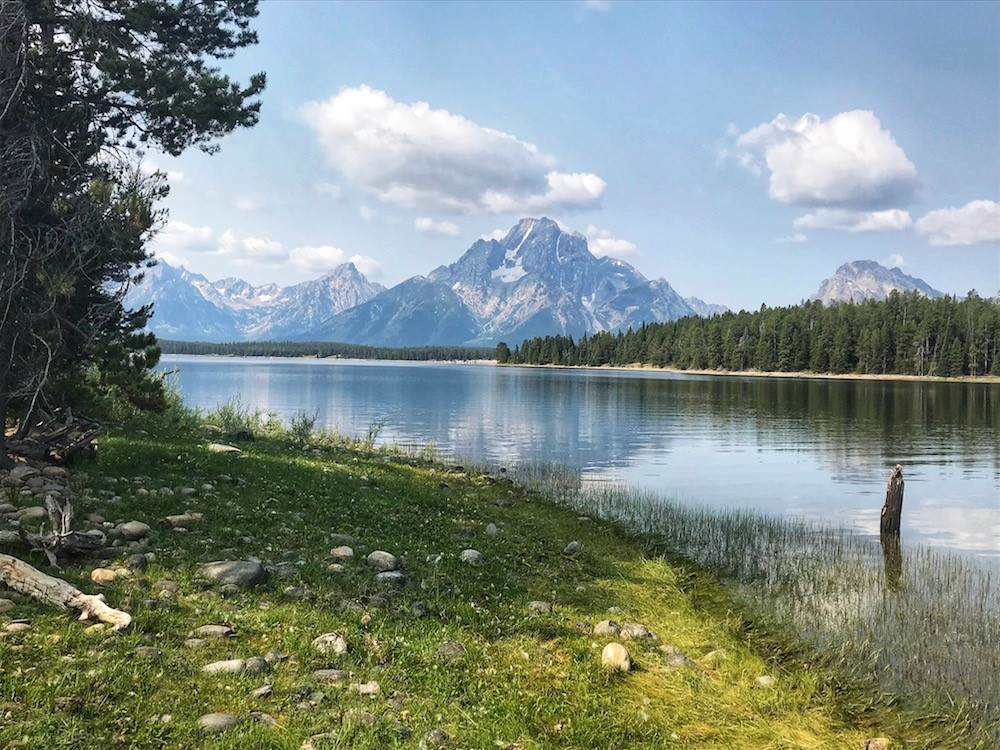 Kayaking in Grand Teton National Park